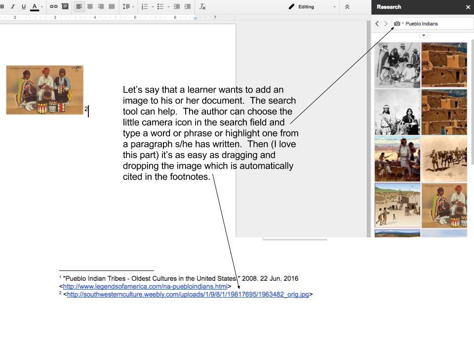 Google Docs Research 3