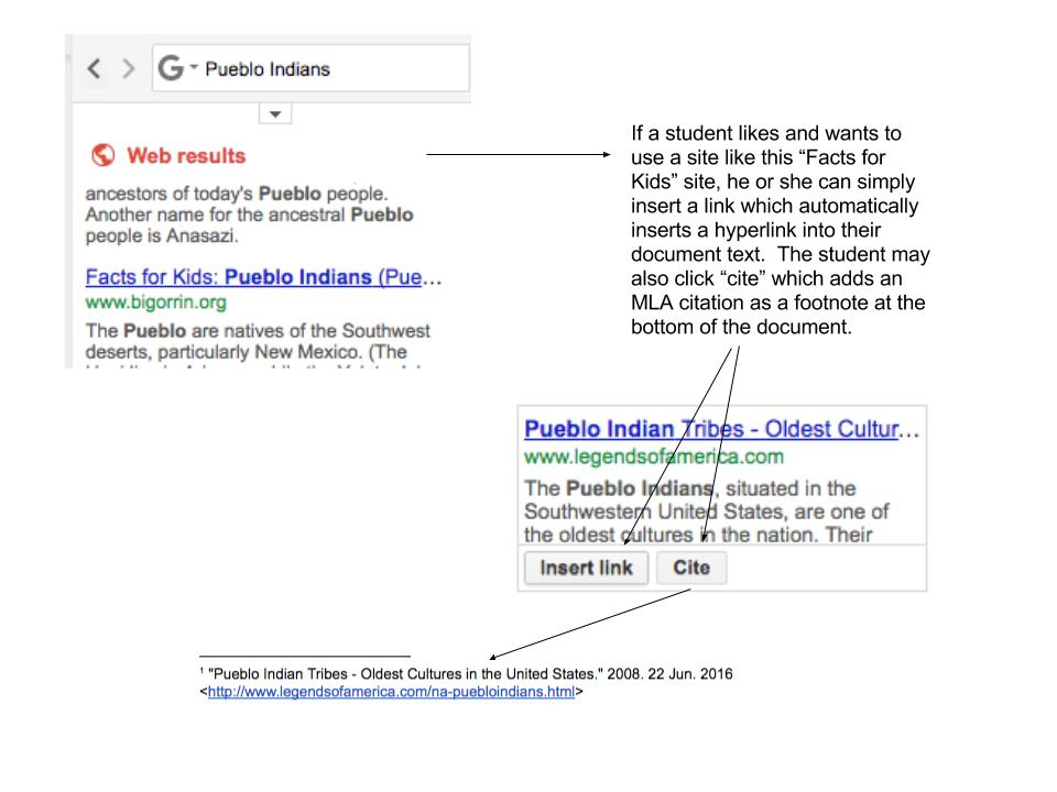 Google Docs Research Tool2